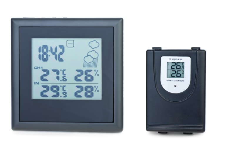 Modern digital weather station with external rf PGMZAYK  1