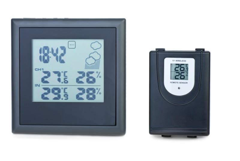 Modern digital weather station with external rf PGMZAYK  1